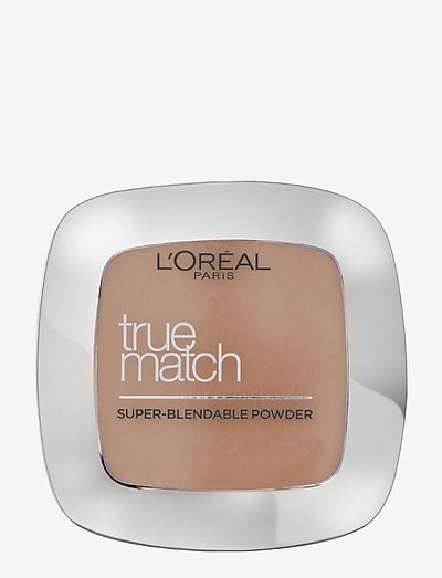 True Match Powder - puuterit - w5 golden sand