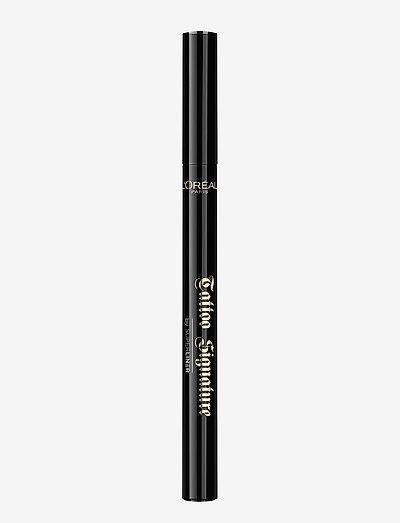 Super Liner Tattoo Signature - eyeliner - extra black