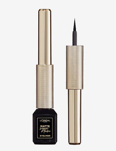 Matte Signature - eyeliner - ink 1