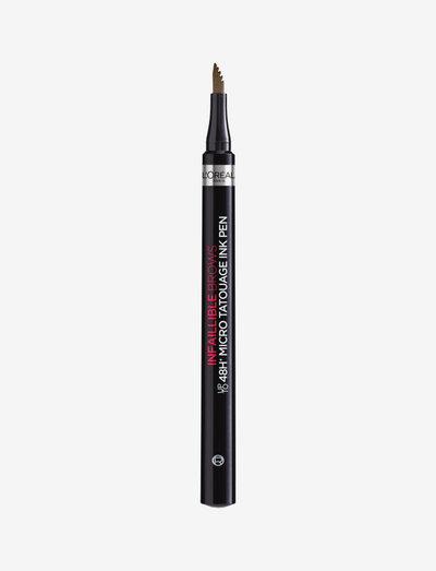 UnbelievaBrow Micro Tatouage Brow pen - Ögonbrynspenna - dark brunette 108