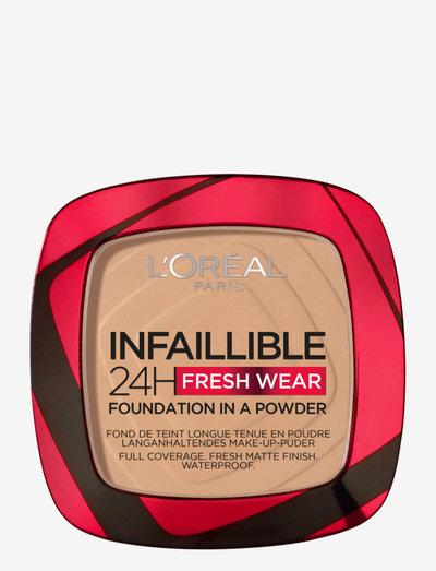 Infaillible 24H Fresh Wear Powder Foundation - foundation - golden beige 140