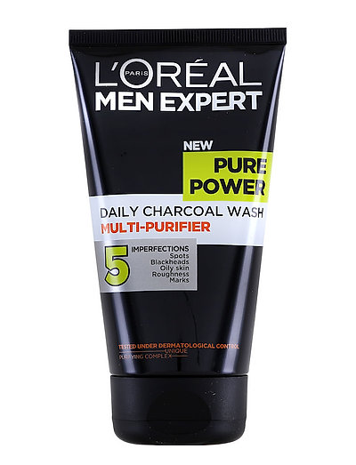 PURE POWER DAILY WASH CHARCOAL - CLEAR