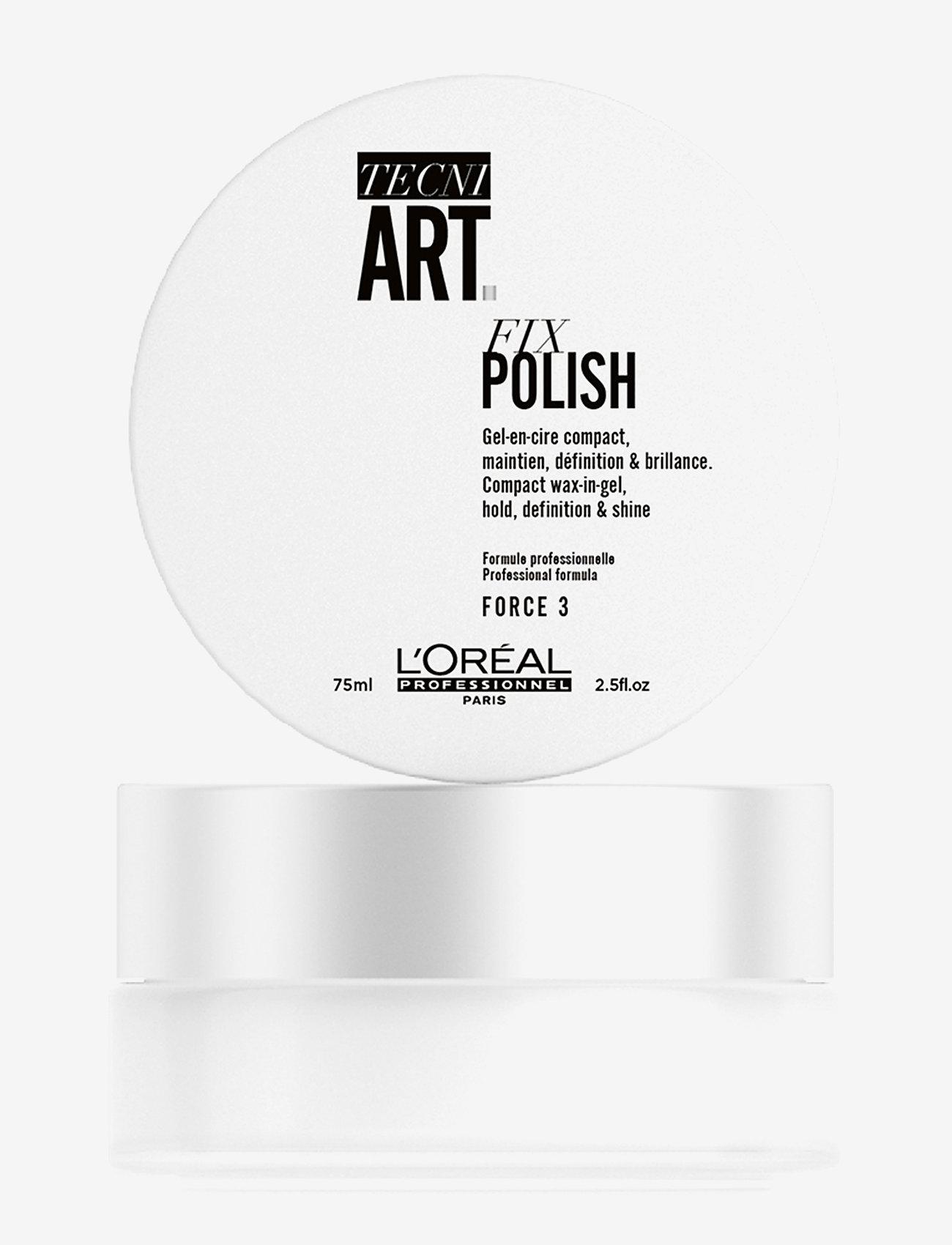 L'Oréal Professionnel - LP TNA19 FIX POLISH - gel - clear - 0