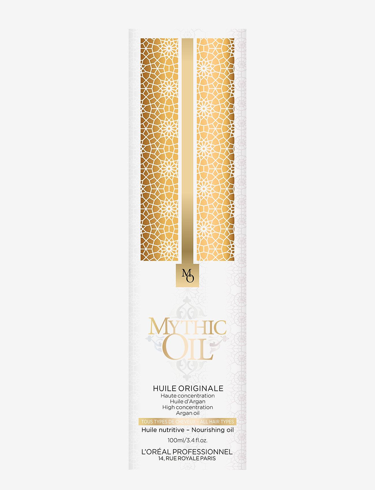 L'Oréal Professionnel - L'Oréal Professionnel Mythic Oil Huile Original - håroljor - clear - 1