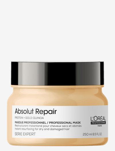 Absolut Repair Masque Thick Hair - hårmasker - clear