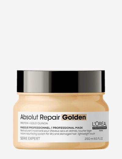 Absolut Repair Golden Masque - hårmasker - clear