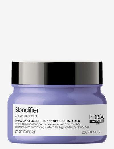 BLONDIFIER MASQUE - hårmasker - clear