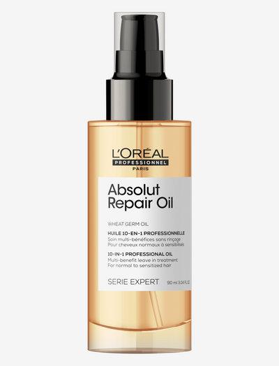 ABS REP GOLD OIL - håroljor - clear