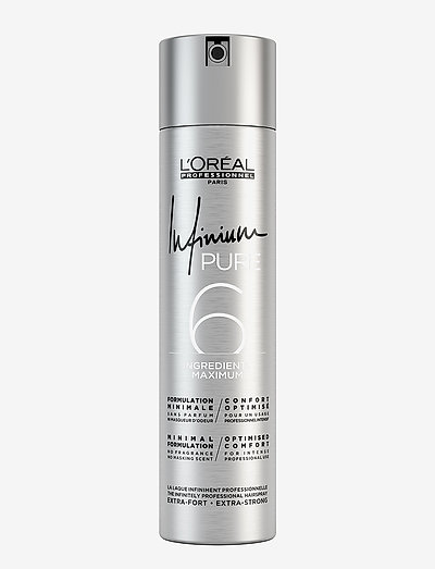 L'Oréal Professionnel Infinium Pure Extra Strong - hårspray - clear