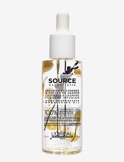 L'Oréal Professionnel Source Essentielle Nourishing Oil - hiusöljyt - clear