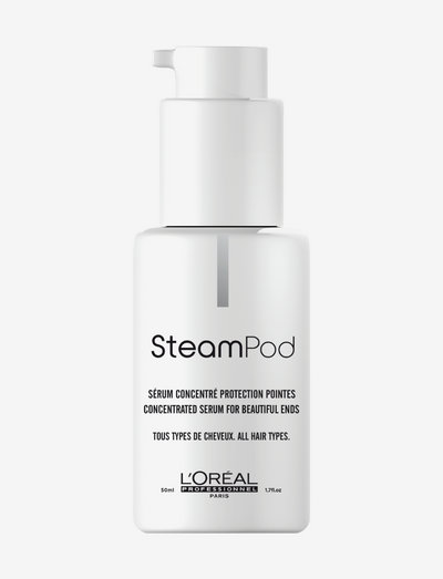 L'Oréal Professionnel Steampod Protecting Concentrate Serum - värmeskydd - clear