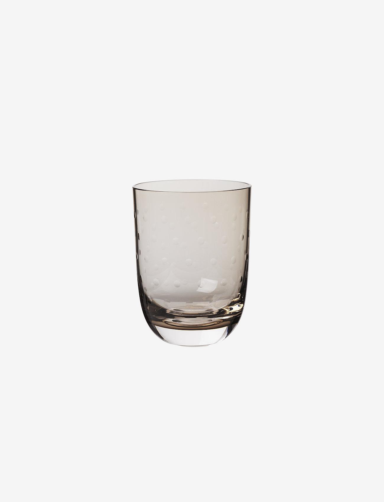 Louise Roe - Crystal soda glass - vannglass - smoke - 0
