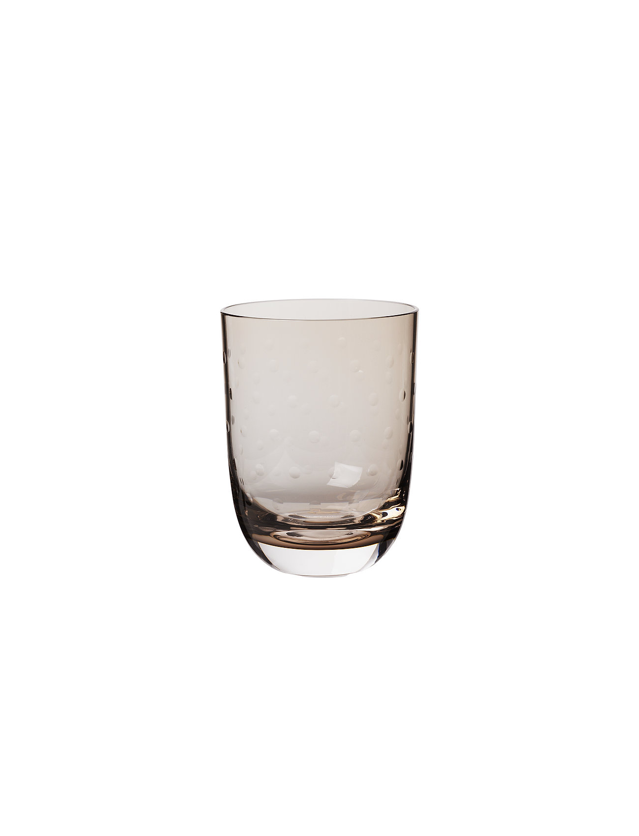 Louise Roe - Crystal soda glass - vannglass - smoke - 1