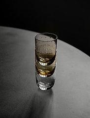 Louise Roe - Crystal soda glass - vannglass - smoke - 3
