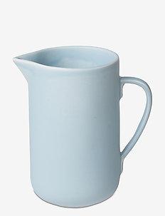 Ceramic PISU #14 Pitcher - maitokannut - sky blue