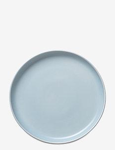 Ceramic PISU #11 Plate - ruokalautaset - sky blue
