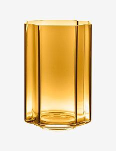 Funki Vase Asymmetric - dekorationer - amber