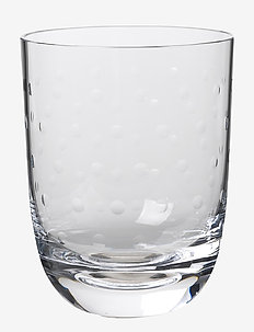 Crystal soda glass - drikkeglas - clear