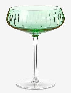 Champagne Coupe - martiniglas & cocktailglas - green