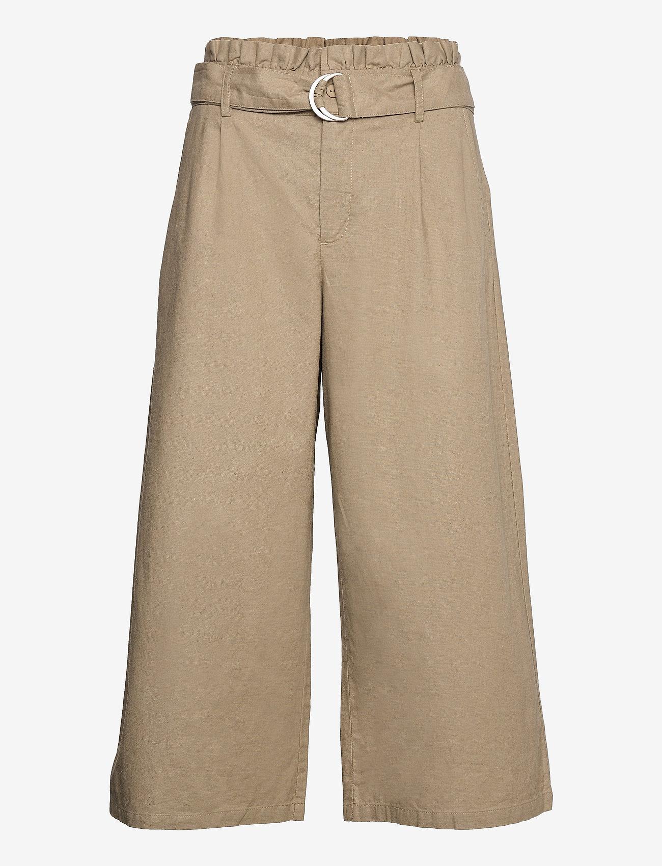 Lounge Nine - LNLauren Culotte - pantalons larges - vintage khaki - 0