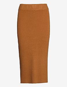 CelestinaLN Knit skirt EV - jupes longues - meerkat