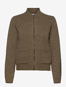 AllyssaLN Jacket RWS - wool jackets - beech melange
