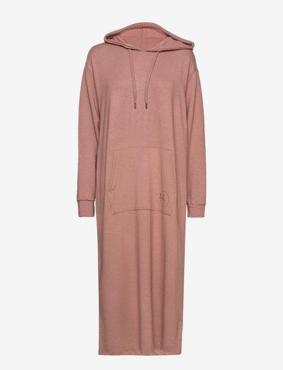 LNKira Sweatshirt Dress - summer dresses - nutmeg