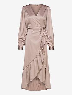 LilaLC wrap dress - ETHEREA