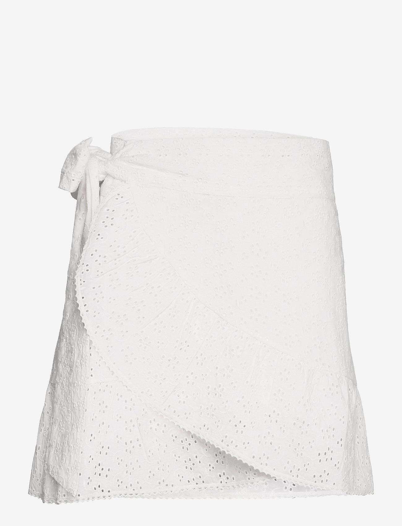 Love Lolita - Valerie Skirt - omlottkjolar - white - 0