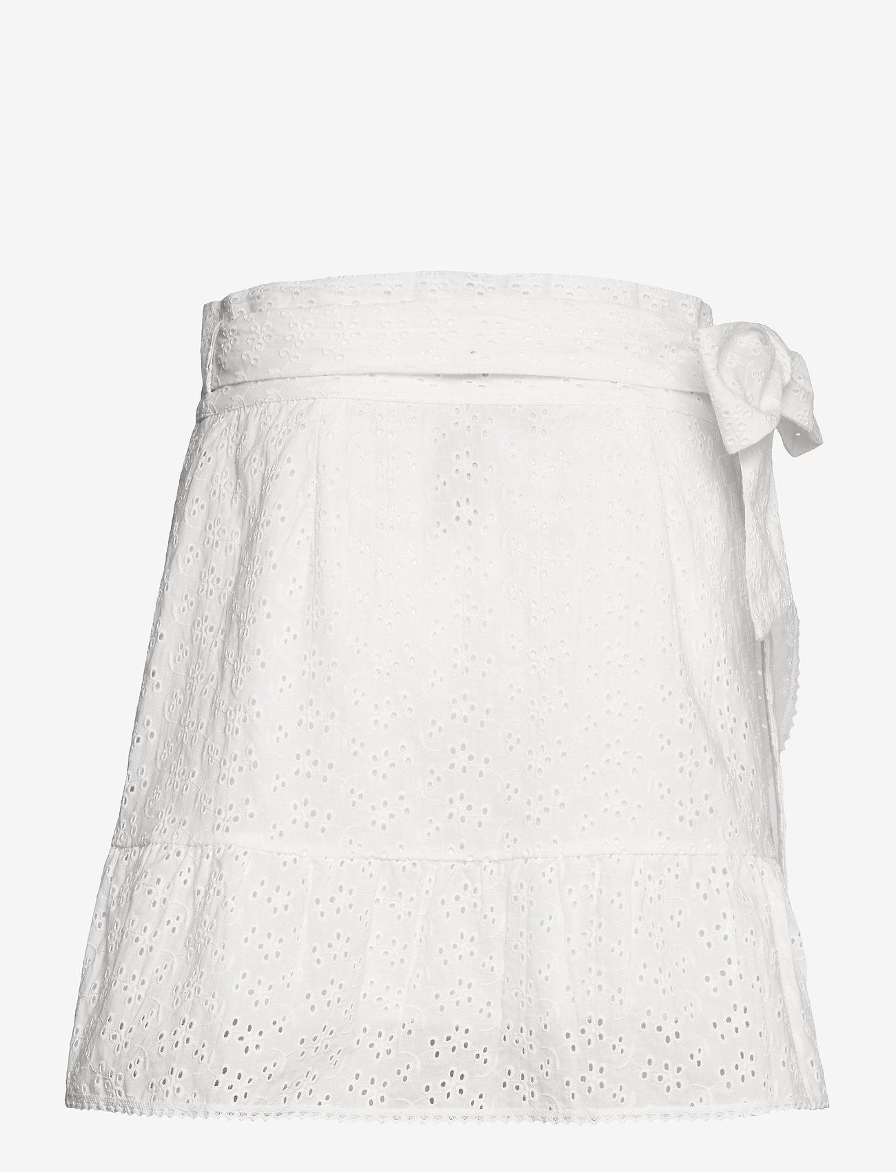 Love Lolita - Valerie Skirt - omlottkjolar - white - 1