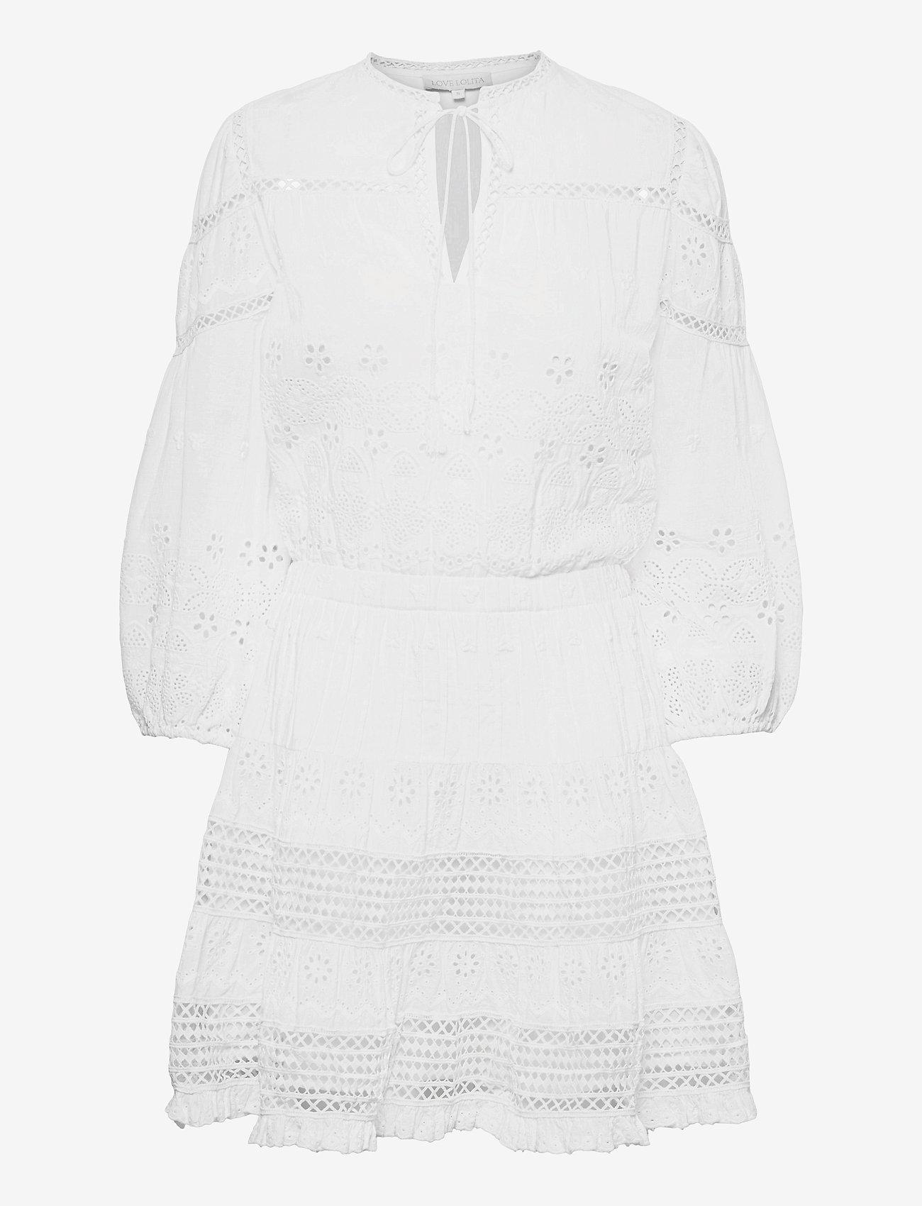 Love Lolita - Delilah Dress - sommerkjoler - white - 0