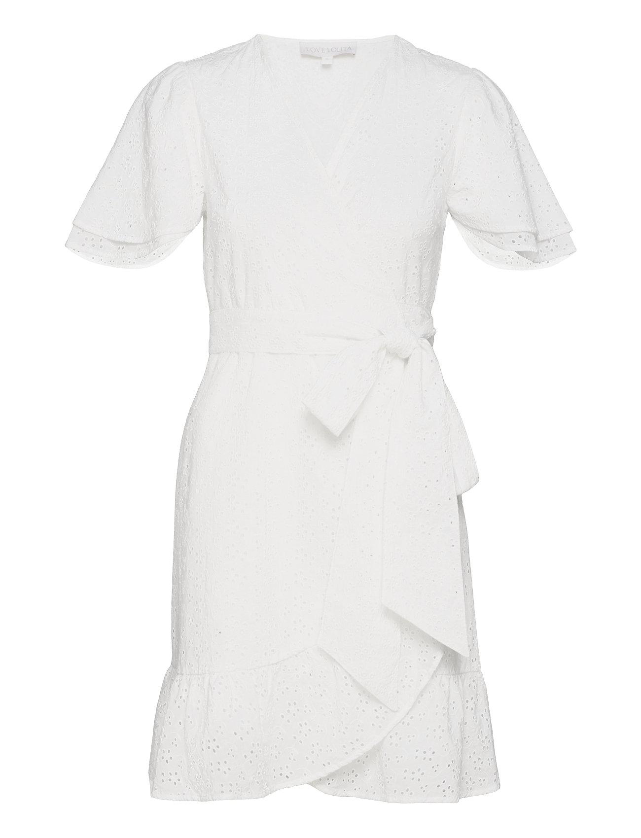 Gabriella Mini Dress Dresses Lace Dresses Hvid Love Lolita