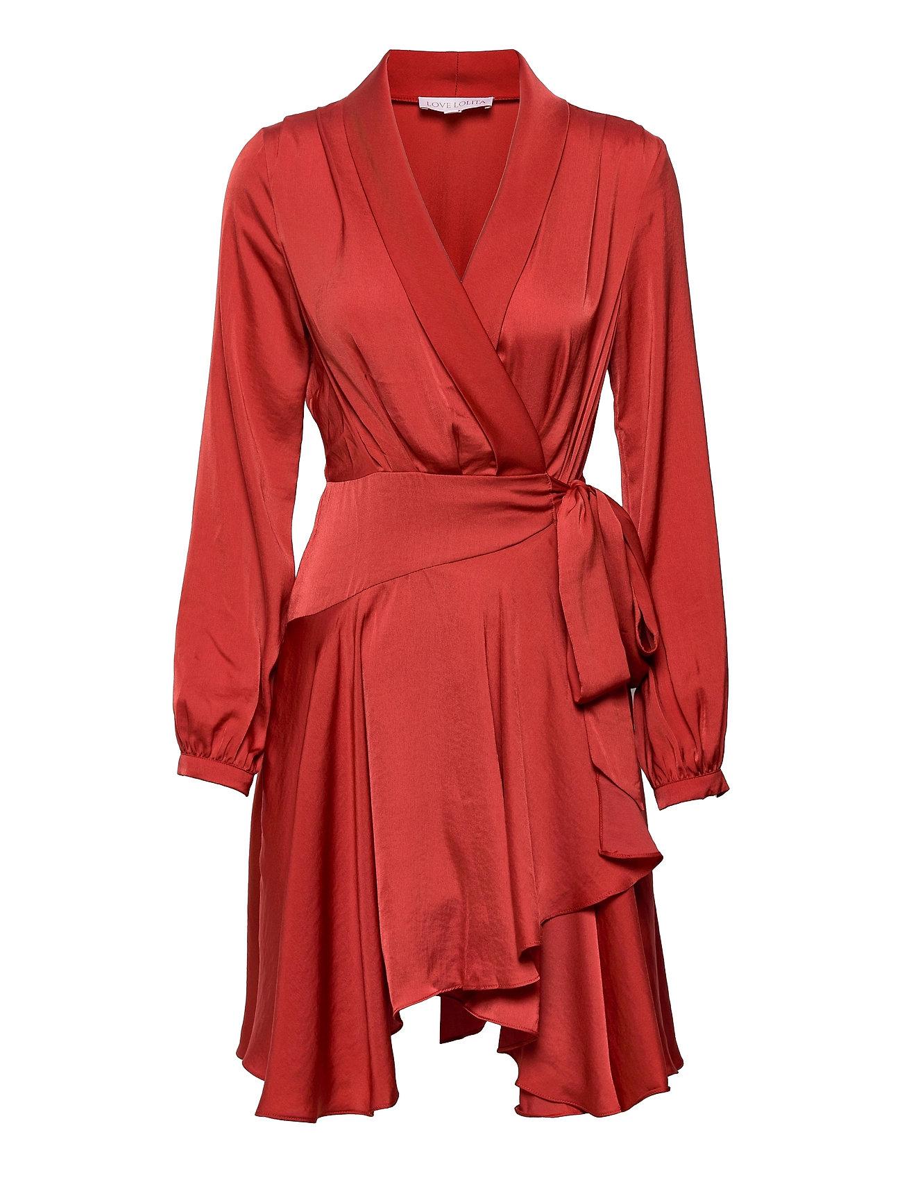 Iza Dress Dresses Cocktail Dresses Rød Love Lolita