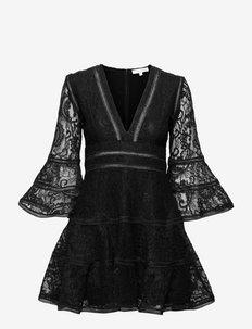 Millie Lace Dress - cocktail-kjoler - black