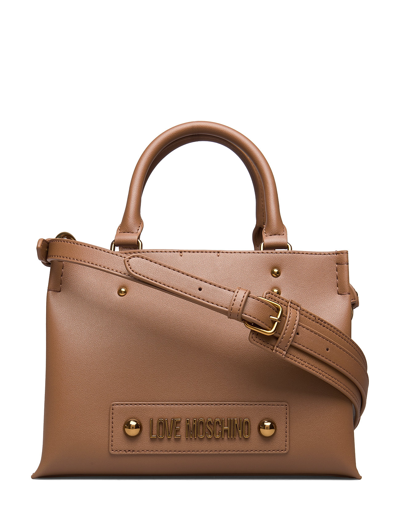 Image of Lettering Love Moschino Bags Top Handle Bags Brun Love Moschino Bags (3287242605)
