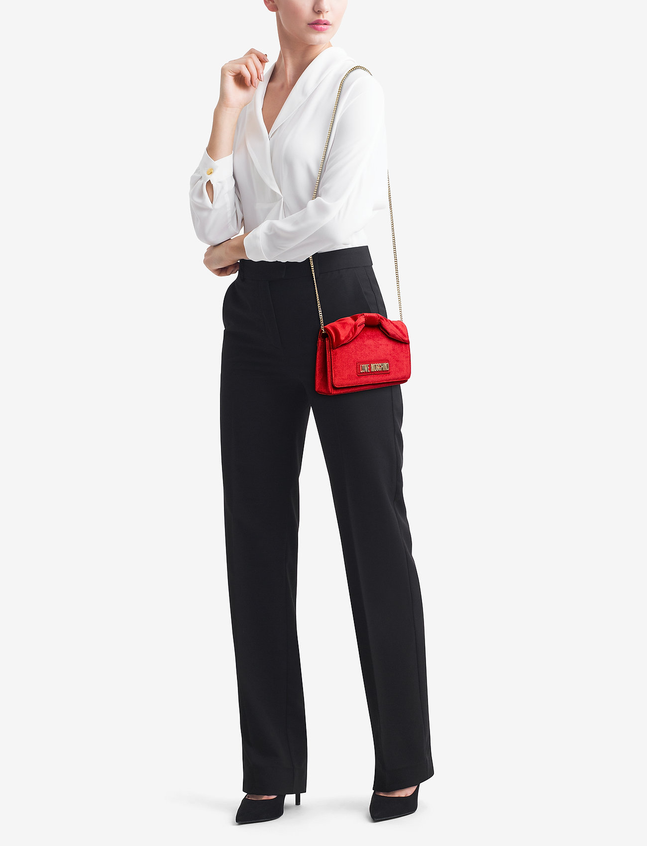 Love Moschino Bags EVENING BAG - RED