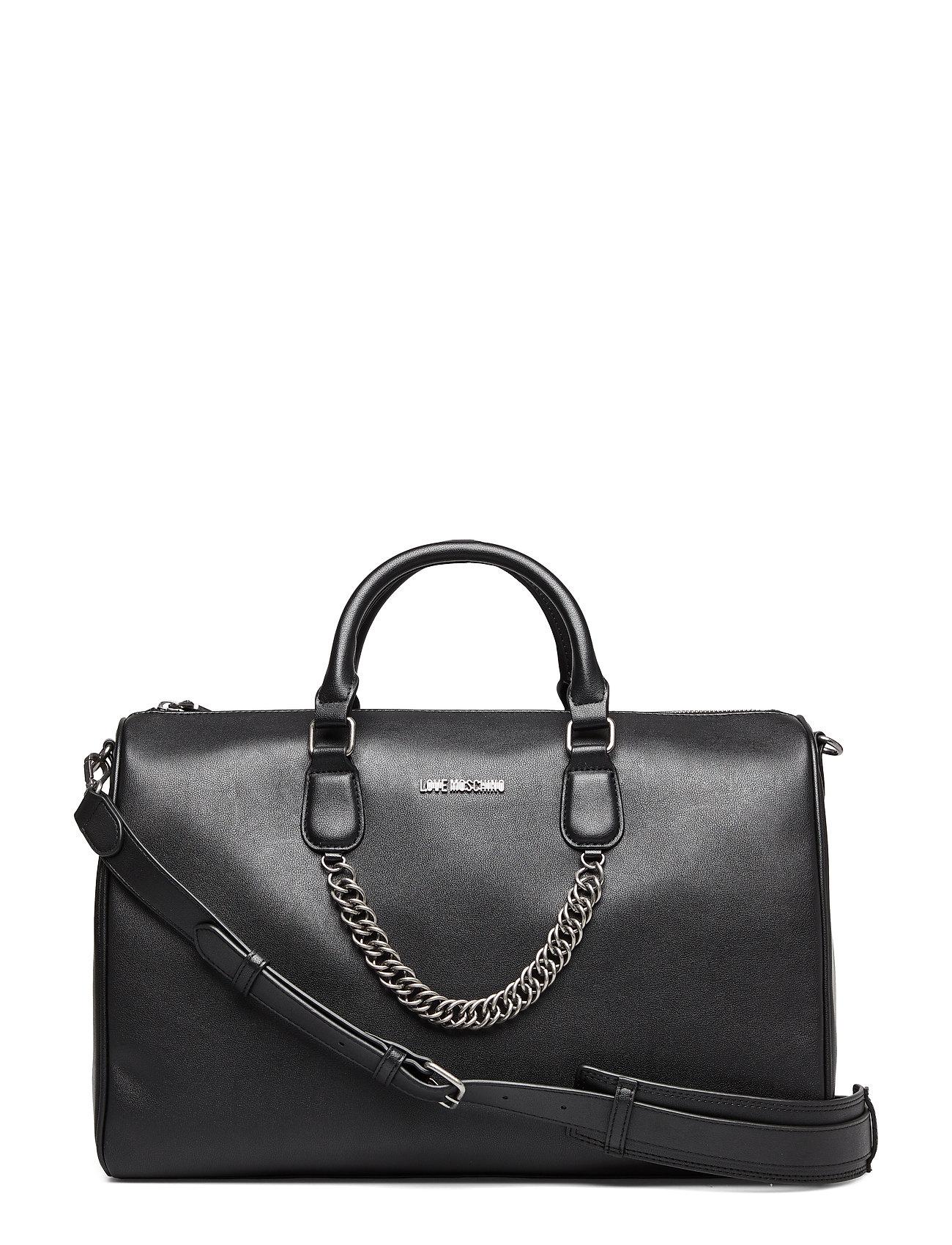 Love Moschino Bags EASY CHAIN, EASY GO - BLACK