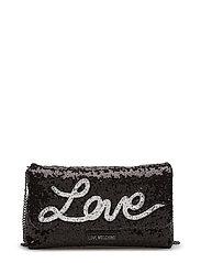 LOVE MOSCHINO-BAG - BLACK
