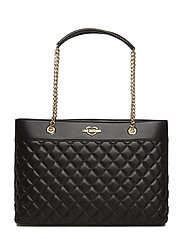 SUPER QUILTED - BLACK