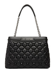 Quilted Love Moschino Bags Bags Top Handle Bags Svart LOVE MOSCHINO BAGS