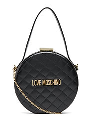 Evening Bag Bags Top Handle Bags Svart LOVE MOSCHINO BAGS