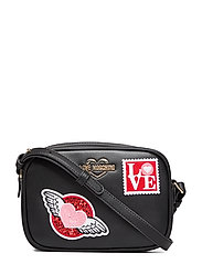 LOVE MOSCHINO PATCHES - BLACK