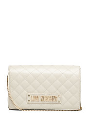 Evening Bag Bags Clutches Creme LOVE MOSCHINO BAGS