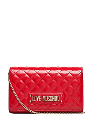 Evening Bag Bags Clutches Rød LOVE MOSCHINO BAGS