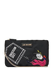 Funny Clutches Bags Clutches Svart LOVE MOSCHINO BAGS