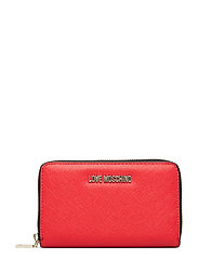 Slg-Love Moschino Bags Card Holders & Wallets Wallets Rød LOVE MOSCHINO BAGS
