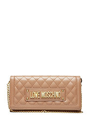 SLG-NEW SHINY QUILTED - CAMEL