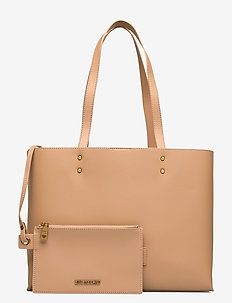 LETTERING LOVE MOSCHINO - fashion shoppers - brown