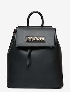 LETTERING LOVE MOSCHINO - reput - black