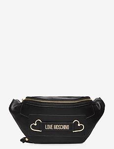 LOVE AND MORE - bæltetasker - black